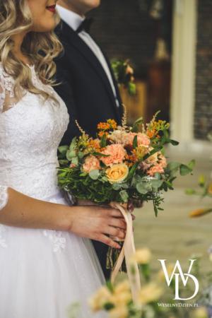 bukiet ślubny, weseln dzien