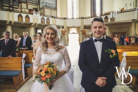 młoda para, ślub