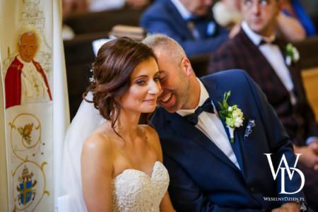 nowożeńcy, weselny dzien