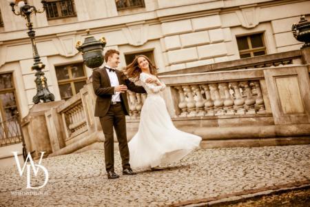 Pałac Pszczyna, sesja ślubna