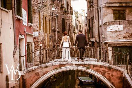 młoda para w wenecji