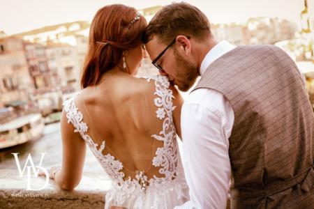 most rialto, wenecja, ślub