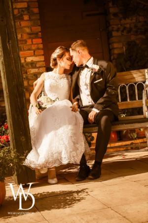 romantyczne sesje ślubne w ogrodach Kapias