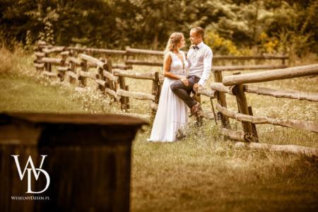 Zdjęcia ślubne na wsi, zdjęcia rustykalne, ślub