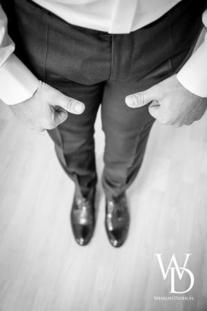 garnitur ślubny, buty