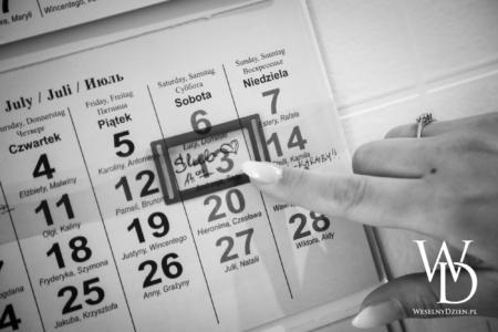 kalendarz weselny, planer ślubny