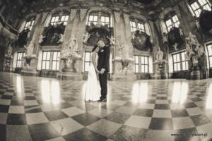 Pałac Lubiąż, zdjęcia ślubne, studio fotografii ślubnej Zabrze
