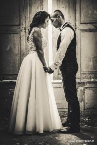 sesje ślubne w zamkach