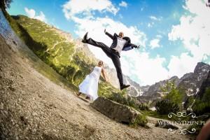 sesje ślubne w górach