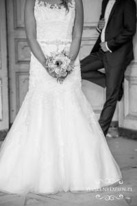 bukiet ślubny pani młodej