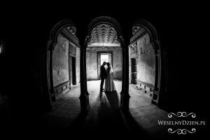 mroczna fotografia ślubna